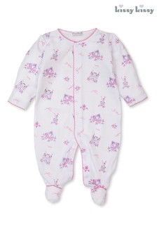 Kissy Kissy Pink Castle Couture Sleepsuit