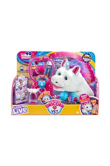 Little Live Pets Rainglow Unicorn Vet Set