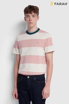 חולצתטיעם שרוולים קצרים של Farah דגם Watsonבוורוד