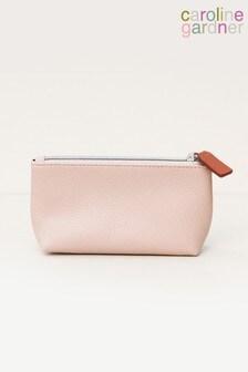Caroline Gardner Pink Handbag Makeup Bag