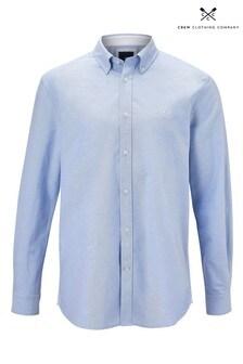 Crew Clothing Company Blue Crew Classic Oxford Shirt