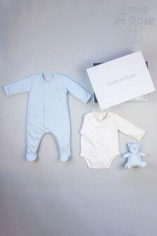 Emile et Rose All-In-One, Body Vest & Toy Gift Set