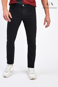 Armani Exchange Black Jeans