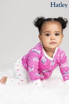 Hatley Pink Pretty Princess Organic Cotton Baby Pyjama Set