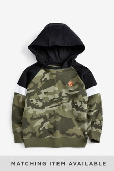 Hoody With Contrast Hood (3-16yrs)