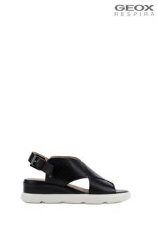 Geox Women's Pisa Brown Sandals