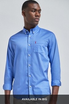 Long Sleeve Light Twill Shirt