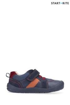 Start-Rite Twist Navy Pre-School Shoes