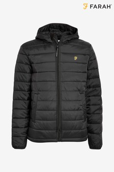 Farah Black Bournemouth Padded Jacket