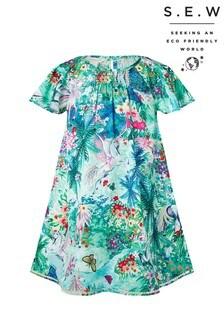 Monsoon Green S.E.W Juniper Unicorn Dress