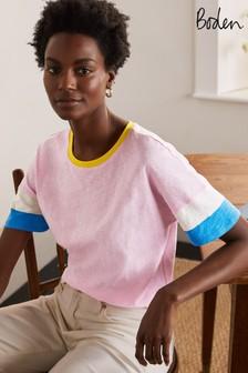 Boden Blue Clarissa Jersey T-Shirt