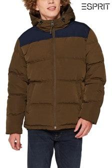 Esprit Khaki Green Padded Jacket