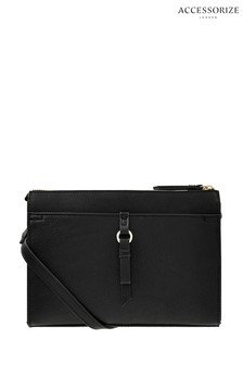 Accessorize Black Charlie Cross Body Bag