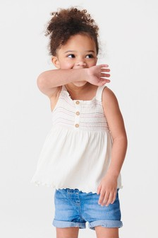 Shirred Vest (3mths-7yrs)