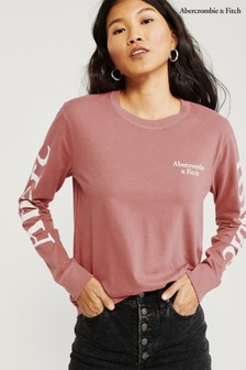 Abercrombie & Fitch Pink Loog T-Shirt
