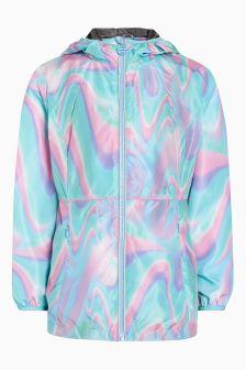 Куртка-анорак мраморной расцветки (3-16 лет)