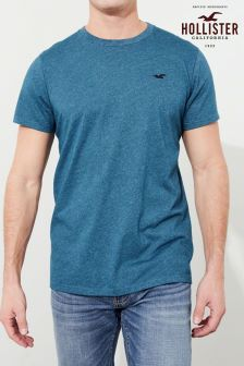 Hollister Blue Logo T-Shirt