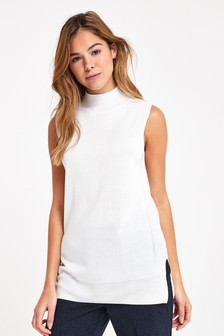 Longline Sleeveless Top
