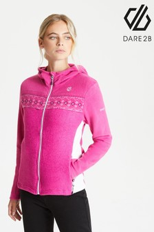 Dare 2B Pink Herald Full Zip Sweater