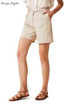 Phase Eight Neutral Morag City Shorts