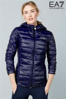 Emporio Armani EA7 Navy Hooded Jacket