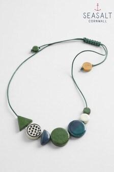 Seasalt Green Sea Pottery Necklace