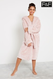 F&F Mink Silky Robe