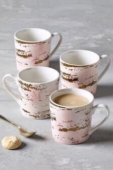 Set of 4 Rosa Mugs
