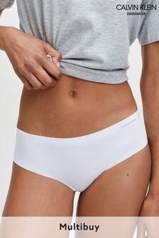 Calvin Klein White Invisibles Hipster Underwear
