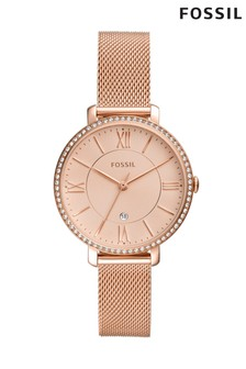 Fossil™ Jacqueline Rose Gold Tone Watch