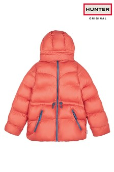 Hunter Womens Red Original A-Line Padded Jacket