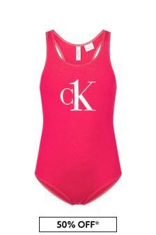 Calvin Klein Underwear Girls Swimsuit