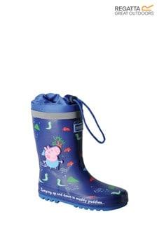 Regatta Blue Peppa Pig™ Splash Wellies