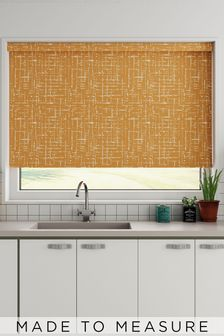 Imperial Pumpkin Orange Made To Measure Roller Blind