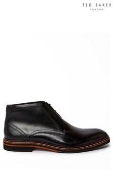 Ted Baker Black Crint Chukka Boots