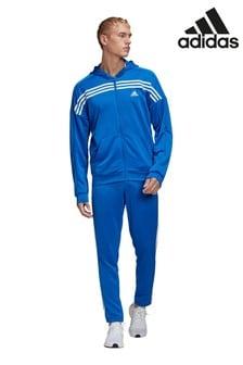 adidas Blue Team Sports Urban Tracksuit