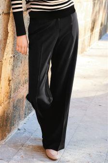 Soft Wide Leg Trousers