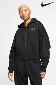 Nike Essential Fleece Oversized Zip Through Hoody