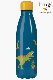 Frugi Steel Hot Or Cold Drinks Bottle In A Dinosaur Design