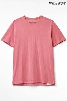 White Stuff Pink Abersoch Organic Plain T-Shirt