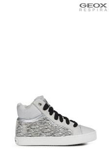 Geox Girls Kilwi White Shoes