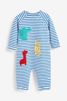 Character Appliqué Romper (0mths-2yrs)