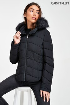 Calvin Klein Strech Down Bomber Jacket