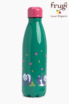 Frugi Steel Hot Or Cold Drinks Bottle In A Panda Design