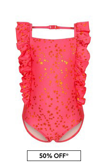 Molo Girls Red Swimsuit
