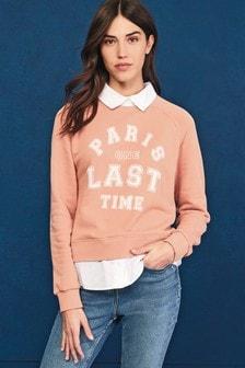Shirt Layer Sweatshirt