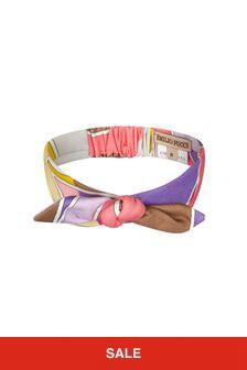 Emilio Pucci Girls Purple Headband