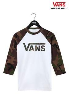 Vans Camo Classic Raglan T-Shirt