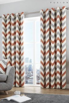 Chevron Duvet Cover and Pillowcase Set by Fusion