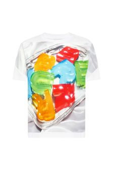 Burberry Kids Baby Boys Multi Cotton T-Shirt